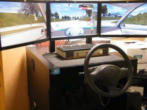 simulateur voiture